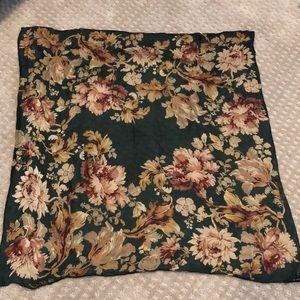 Silk Floral Ralph Lauren Scarf